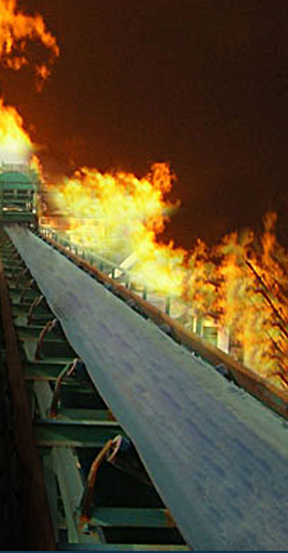 Flame Resistant Conveyor Belt